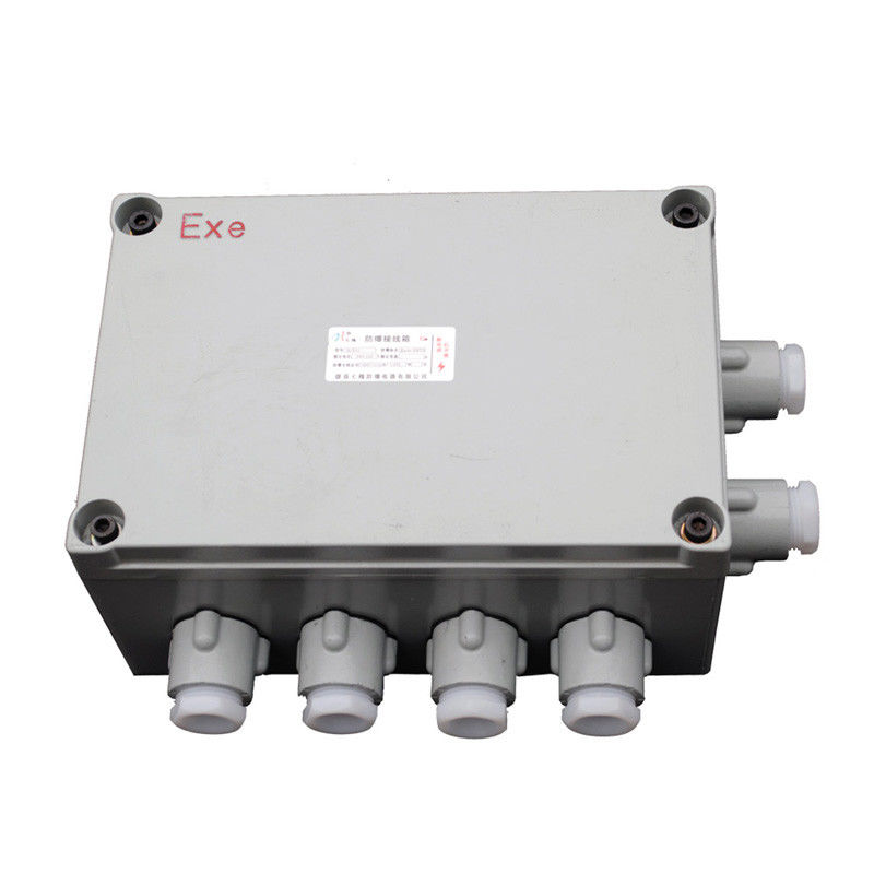 Cast Aluminum Explosion Proof Junction Box With Cable Gland 400*500*160mm